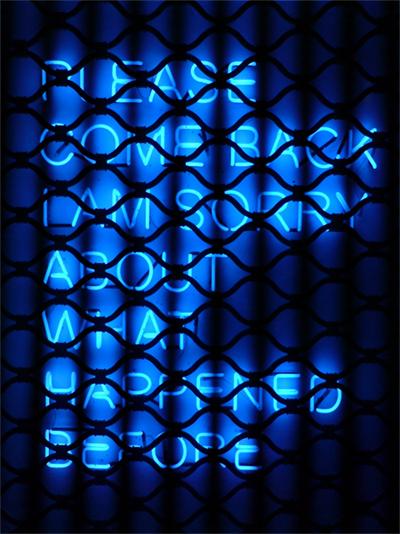 Please come back - tim etchells neon - toulouse dsc00047sml