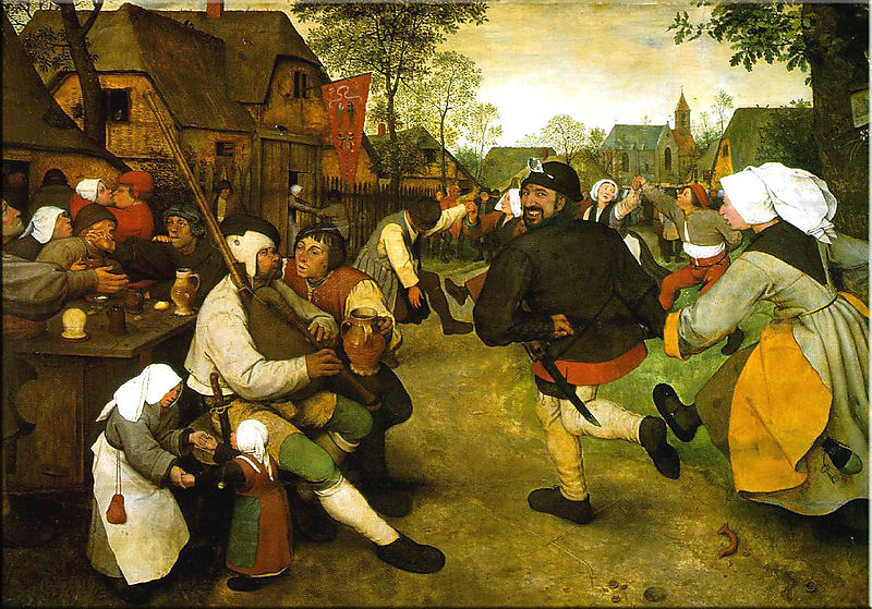 Pieter Bruegel the Elder the Peasant Dance 2