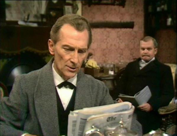 PeterCushing_SherlockHolmesTV1968