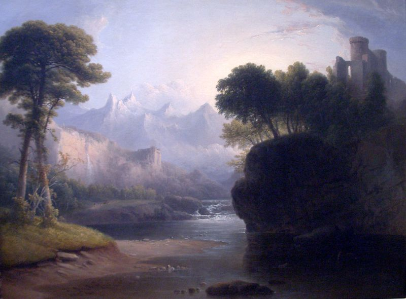 Fanciful_Landscape-1834-Thomas_Doughty
