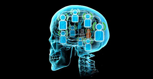Social-networks-brain