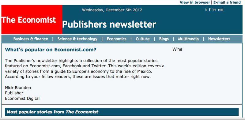 Economist popular