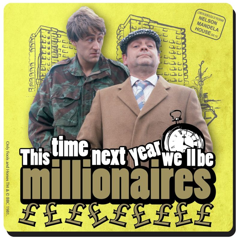 Coaster-only-fools-and-horses-millionaires
