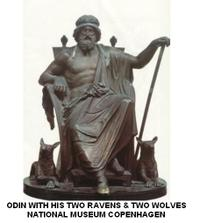 Odin_with_wolves